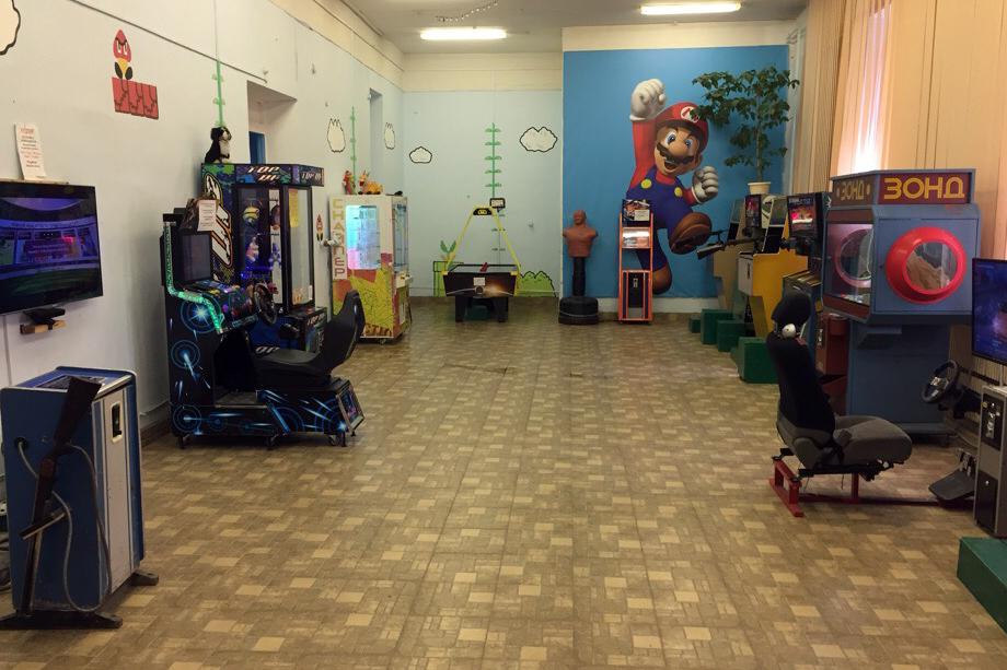 Природный парк приглашает северчан всех возрастов в зал игровых аттракционов