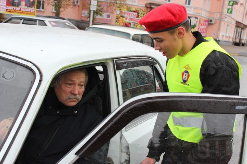 Участников дорожного движения пожилого возраста попросили быть более внимательными