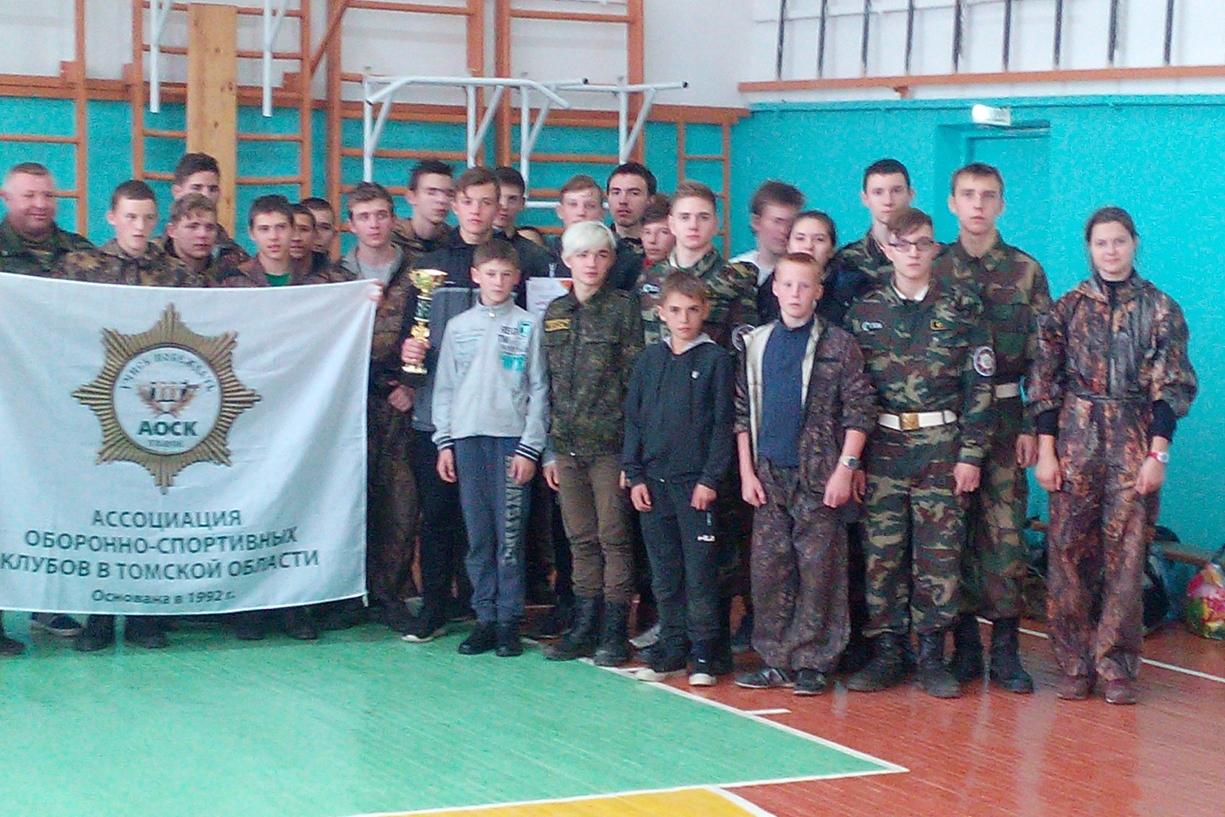 Курсанты клуба «Долг» поборолись за победу на военизированном кроссе