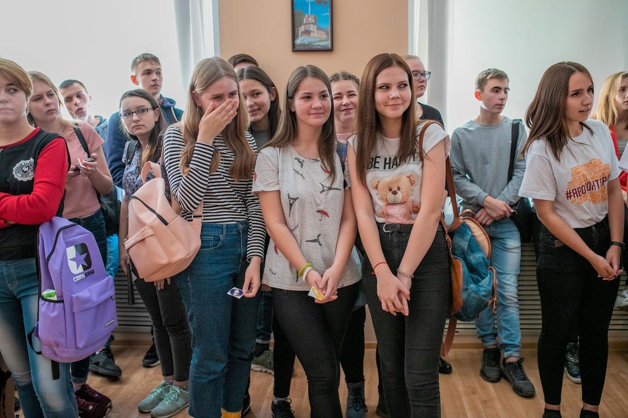 Студенты завершили обучение в региональной школе волонтеров