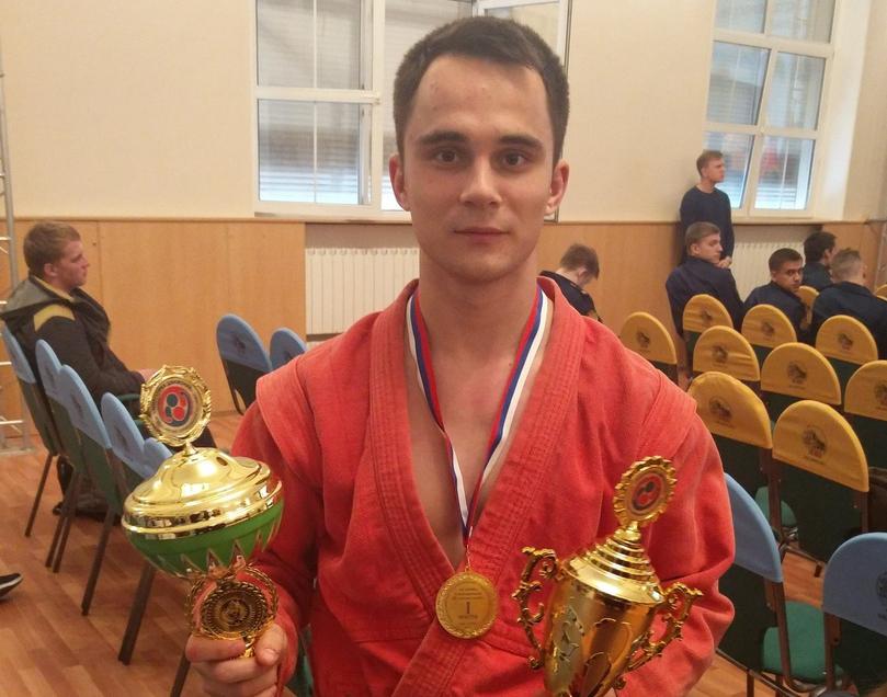 Правосуд Сергей - победитель Всероссийских соревнований по самбо