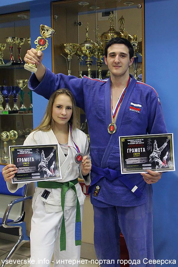 Северчане Эдуард Гильман и Инна Середенко успешно выступили на Чемпионате Томской области по джиу-джитсу