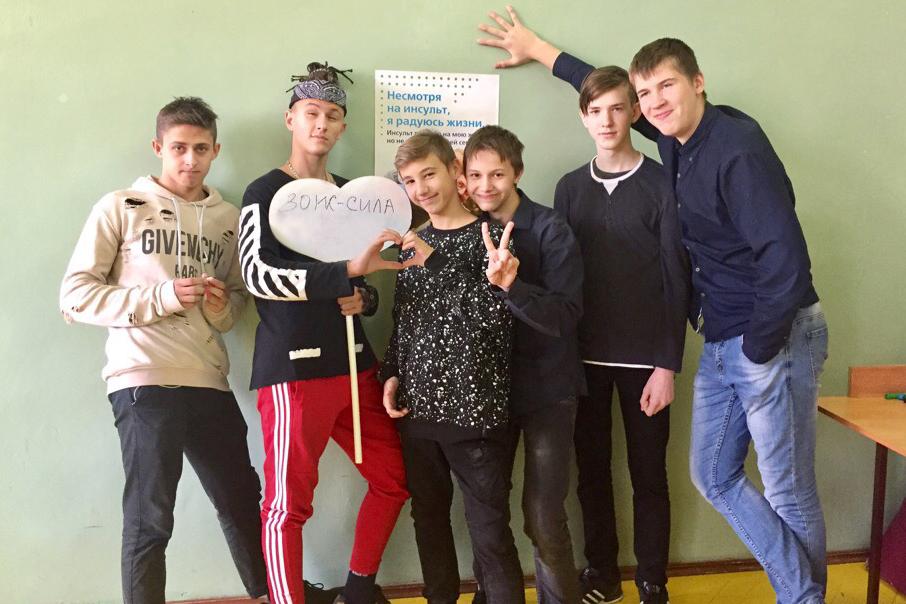 Школьники Северска научились распознавать признаки инсульта