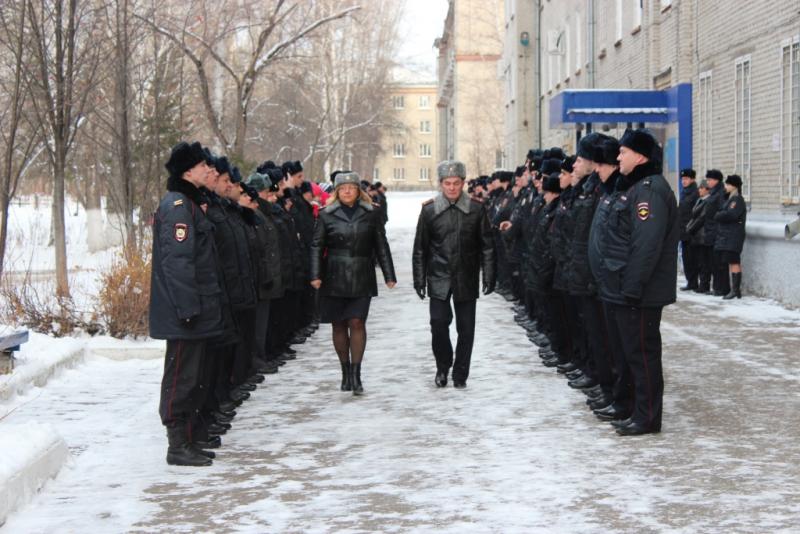 В УМВД России по ЗАТО Северск состоялся День дисциплины