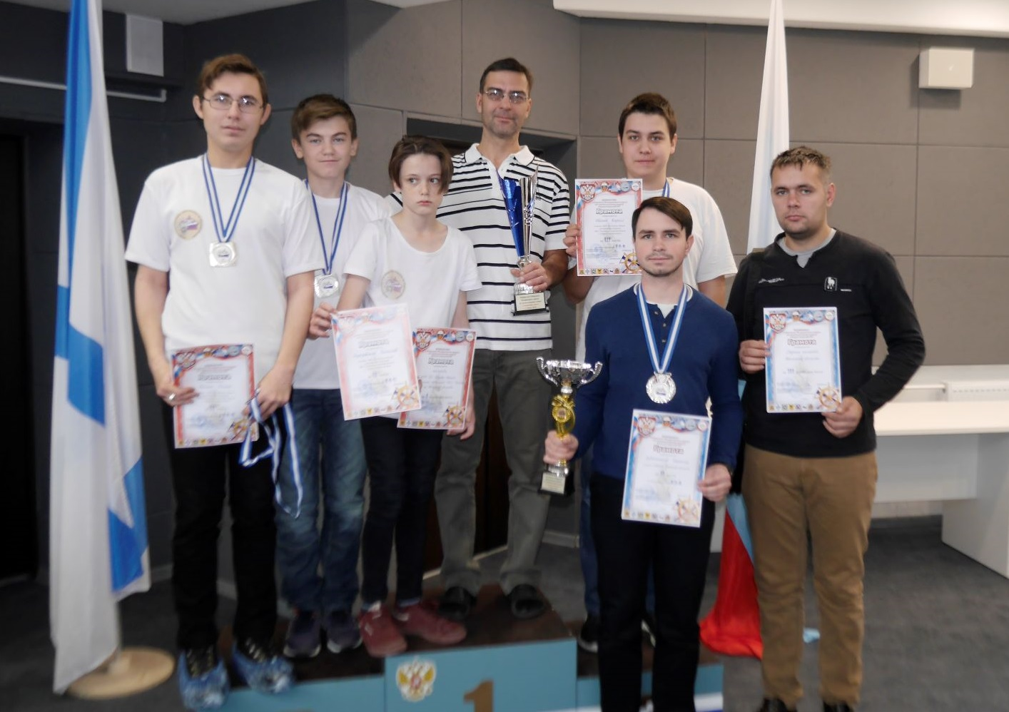 Северчане успешно выступили на Первенстве СФО по судомодельному спорту