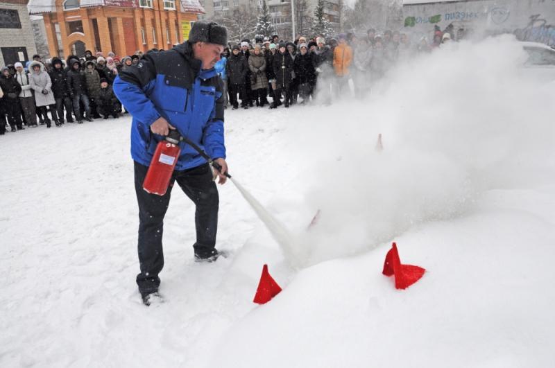 Противопожарное мероприятие в Северском музыкальном театре