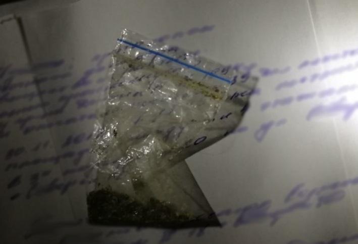 Полицейские задержали подозреваемого в хранении наркотических средств