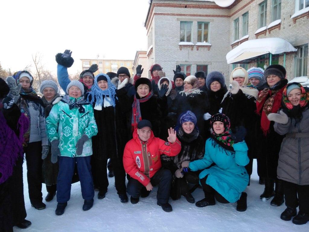 Библиотекари встретили зиму с членами клуба молодых инвалидов «Ровесники»
