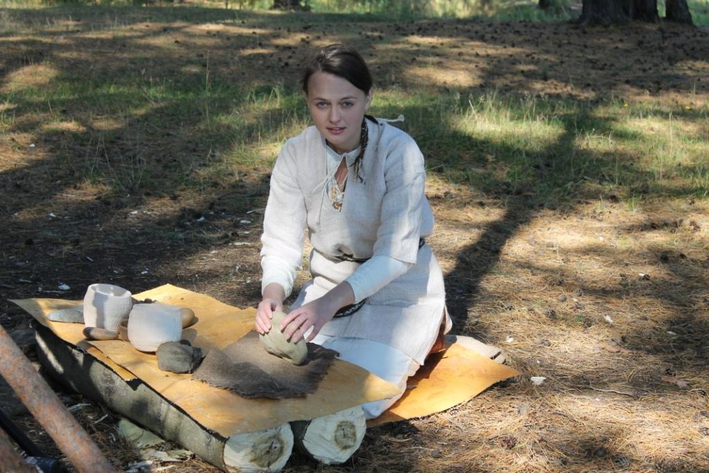 Мастер-класс по экспериментальной археологии и исторической реконструкции