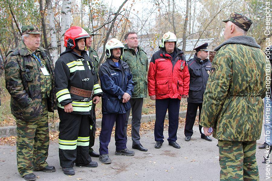 Северск и Парабельский район стали лучшими в 2018 году в области защиты от ЧС