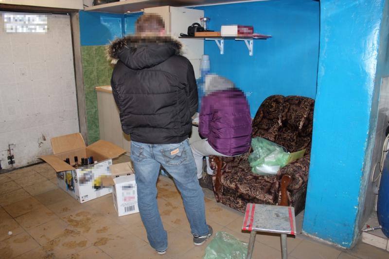Группа северчан подозревается в незаконном сбыте алкоголя