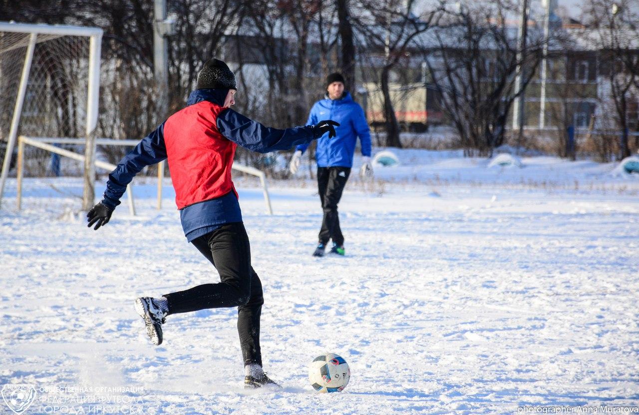 На выходных стартует Первенство города по зимнему футболу