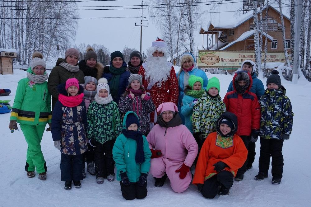 Новый год с Дедом Морозом, Снегурочкой и хаски