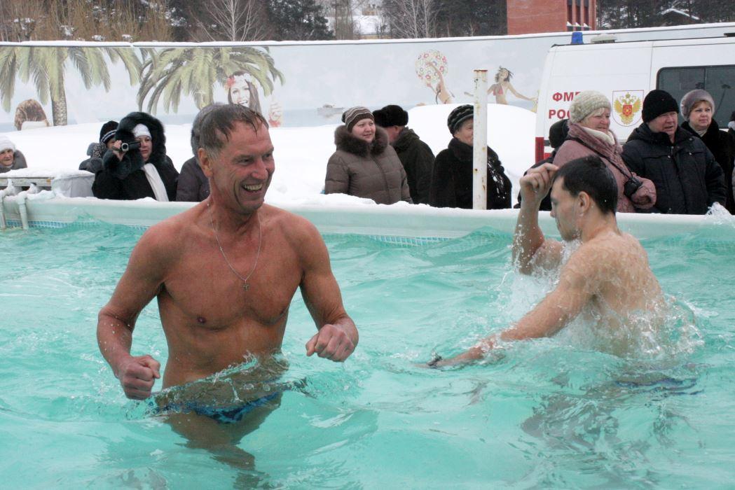 В Северске крещенские купания будут проходить на территории банного комплекса «Жара»