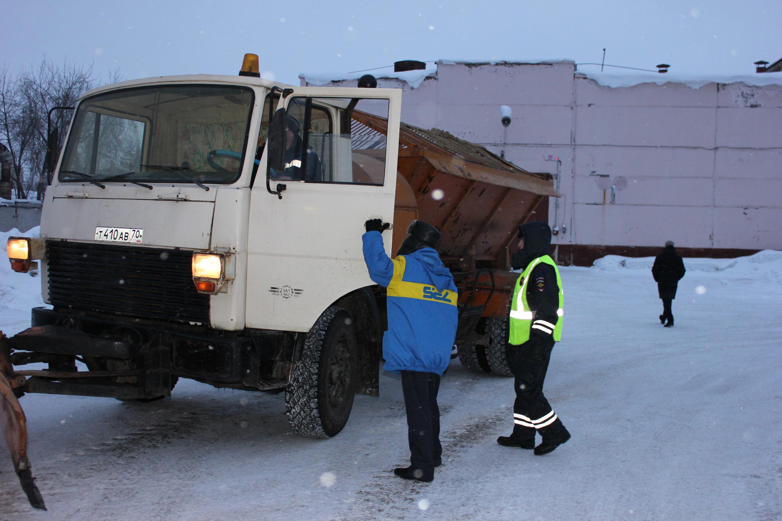 Северские автоинспекторы провели профилактическое мероприятие «Грузовик»