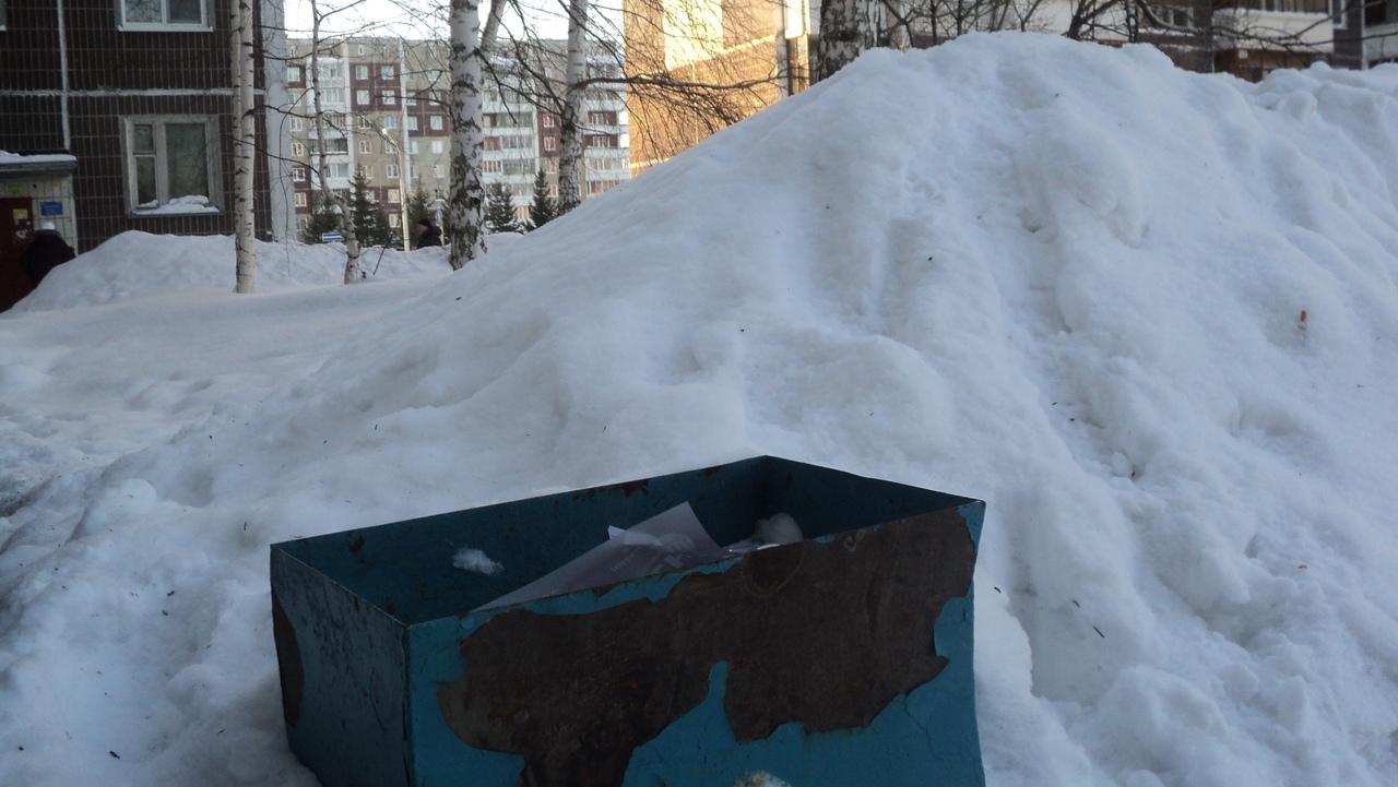 Письмо в редакцию. Козырьки от снега для урн