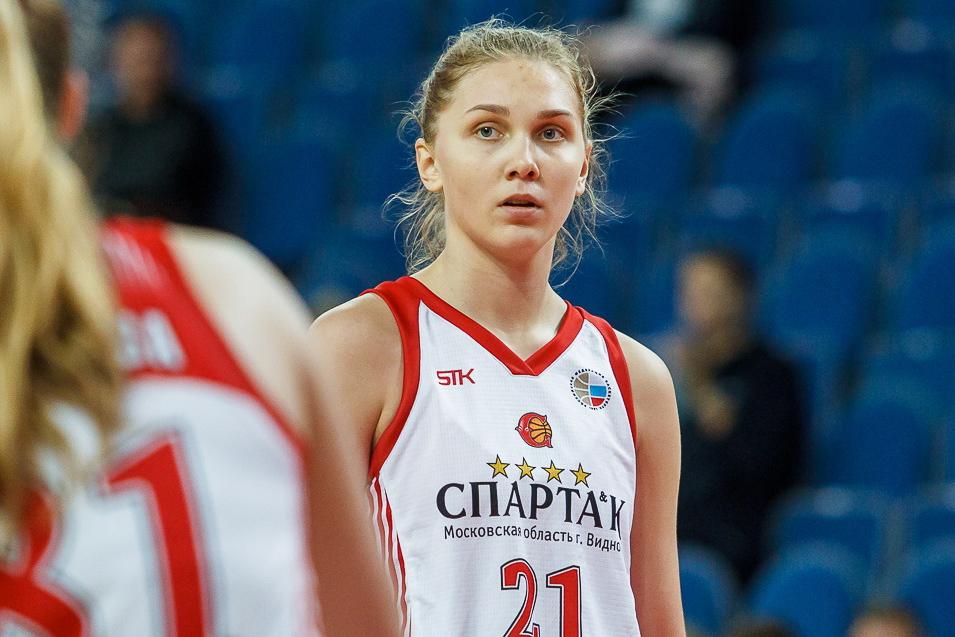 Успехи Анастасии Зоткиной на Чемпионате России по баскетболу