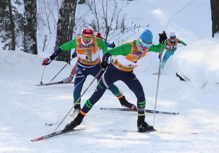 Успехи северских лыжников на Первенстве Сибирского Федерального округа