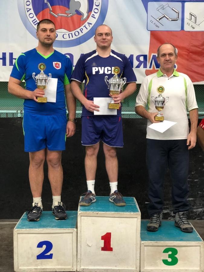 Победа на всероссийском турнире по городошному спорту