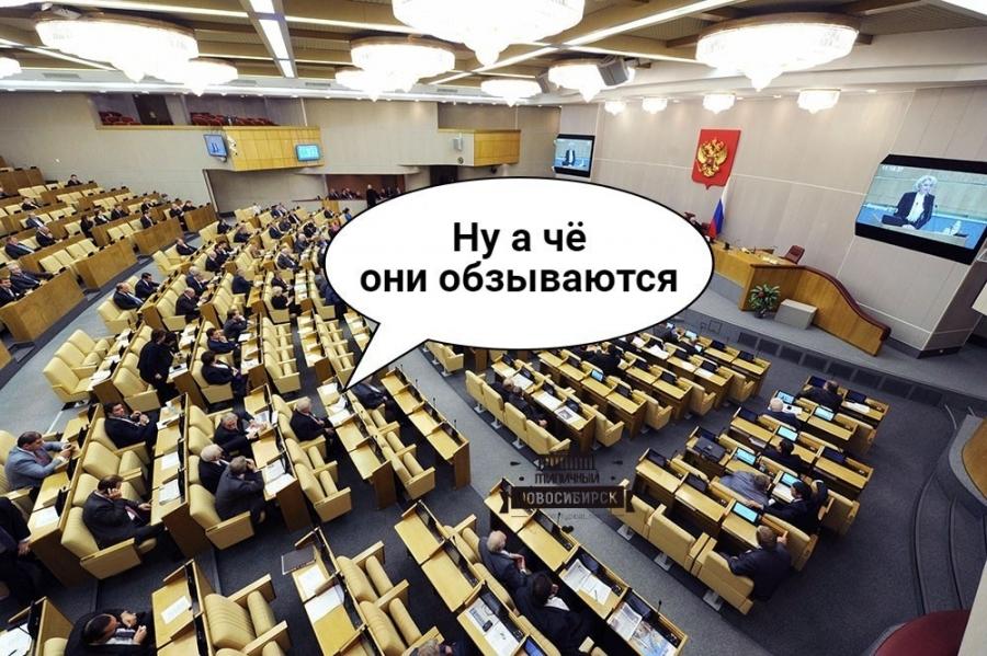 В Госдуме предлагают в 20 раз увеличить штраф за оскорбление власти в интернете