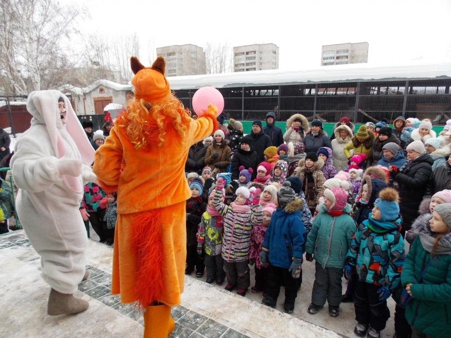 Северский зоопарк отметил свой День рождения