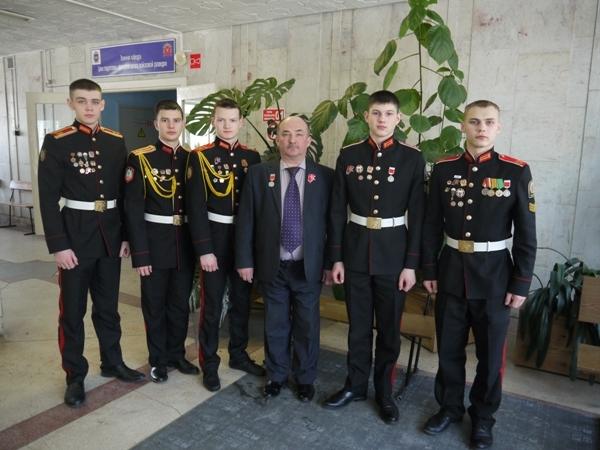Северские кадеты победили на Всероссийской студенческой олимпиаде «Ратная слава России»