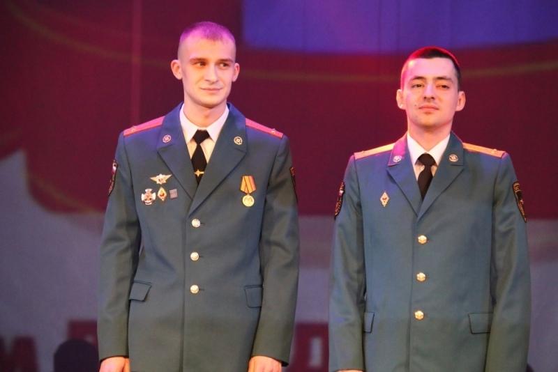 Молодых лейтенантов напутствовали ко Дню защитника Отечества