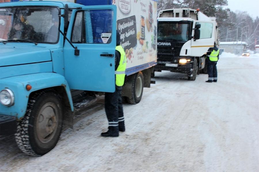 Сегодня в городе будут проверять грузовики и трактора
