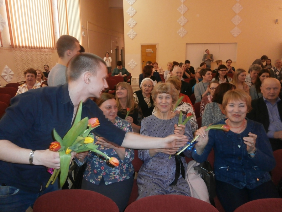 В СПК состоялась праздничная программа «Мы вместе», посвященная 23 февраля и 8 марта