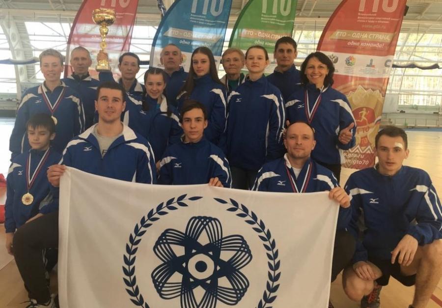 Северчане заняли первое место на фестивале ГТО среди всех категорий населения