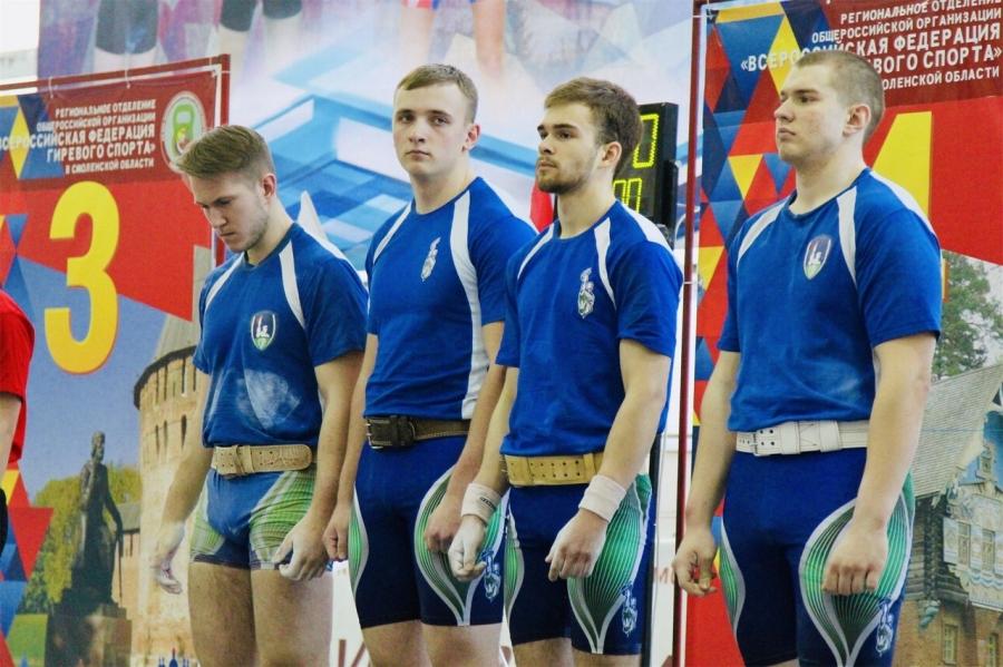 Северчане привезли бронзовые медали с Первенства России по гиревому спорту