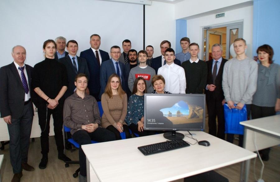 В СПК состоялось открытие современной аудитории для подготовки кадров в области IT- технологий