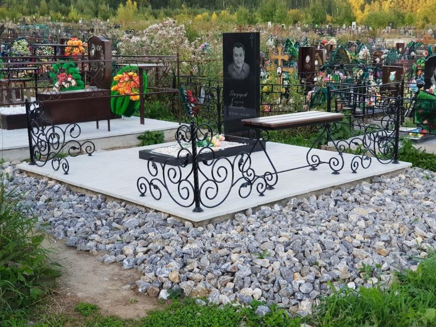 Городская Ритуальная Служба предлагает услуги по благоустройству мест захоронения