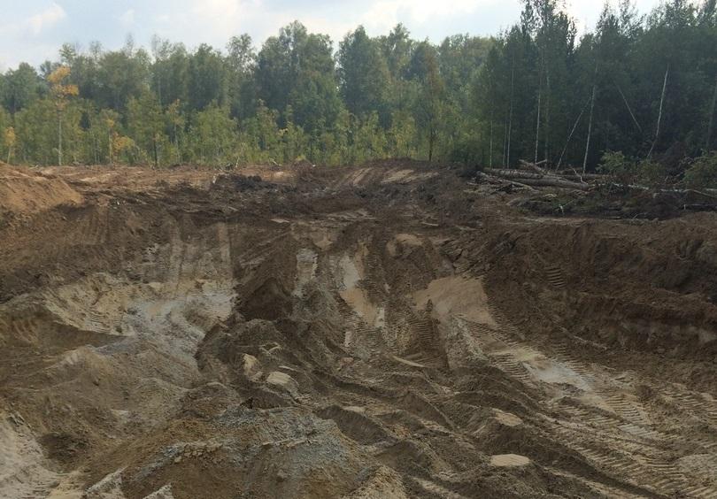 ООО «СМУ-7» незаконно добыло на месторождении Северска песок почти на 3 миллиона рублей