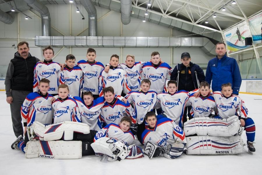 Успехи северских хоккеистов