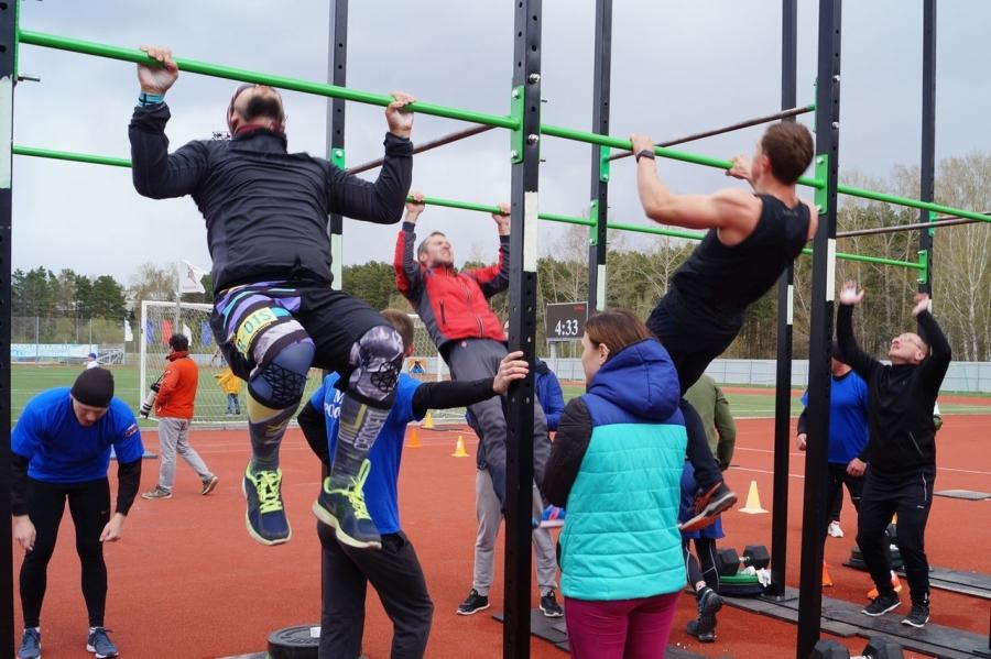 В Северске прошли соревнования по кроссфиту