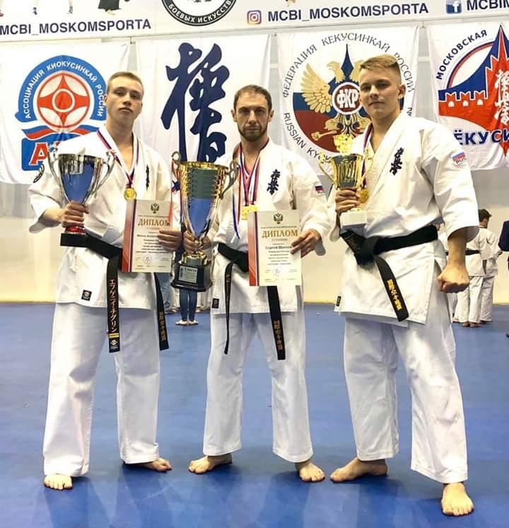 Северчане успешно выступили на Первенстве и Чемпионате России по киокусинкай