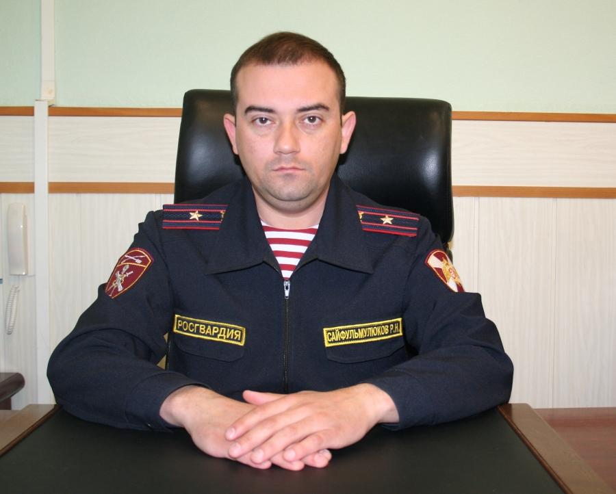 В отделе вневедомственной охране по ЗАТО Северск новый руководитель