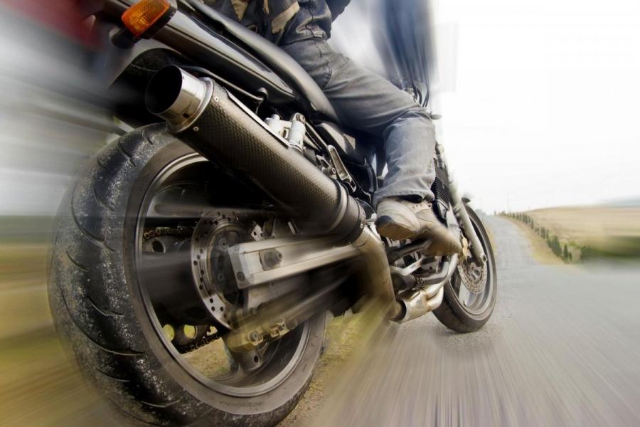 В городе задрежали пьяного мотоциклиста