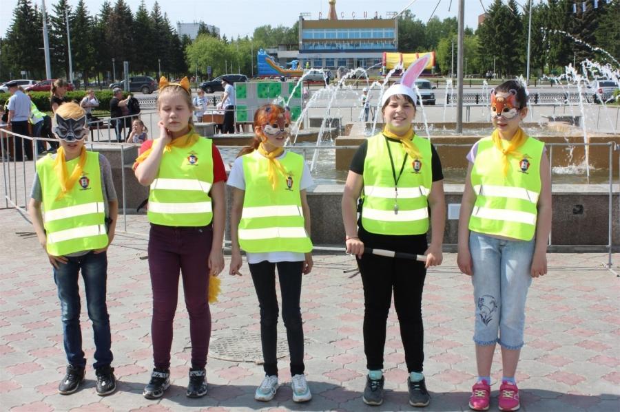 В Северске прошел ежегодный детский фестиваль «Безопасное колесо»
