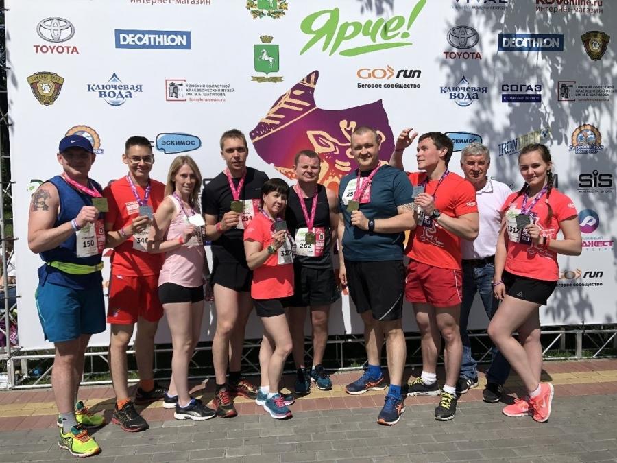 Северчане приняли участие в марафоне