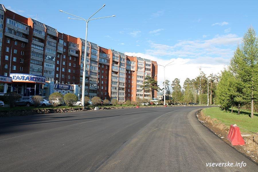 Северск - лидер по выполнению губернаторской программы «Дороги»
