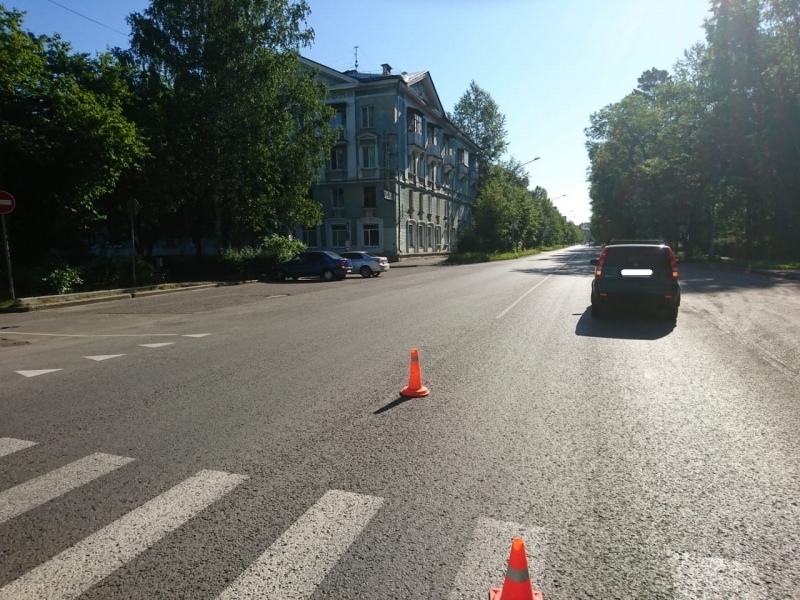 Водитель не увидел пешехода из-за солнечных лучей