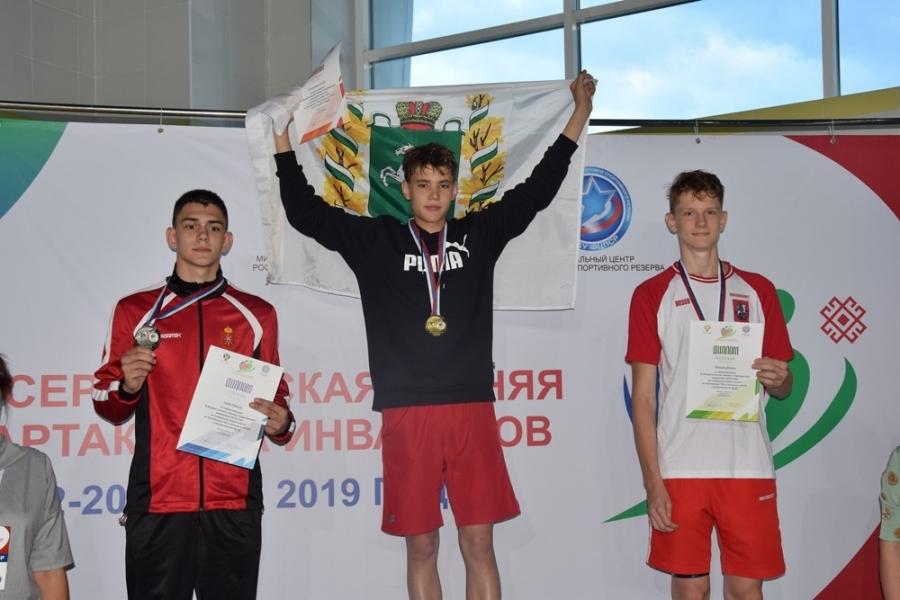 Северчанин завоевал шесть медалей Всероссийской спартакиады инвалидов