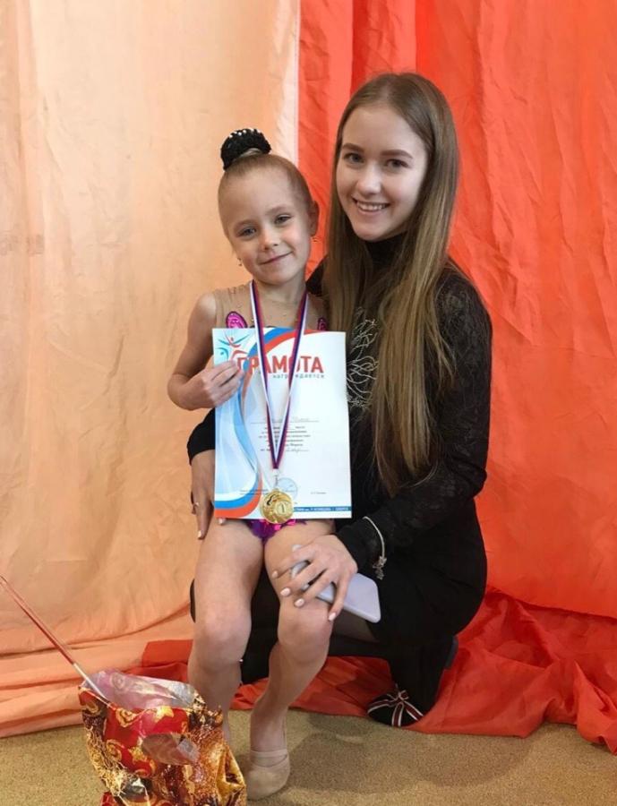 Объявляется набор девочек 2015 г.р. для занятий художественной гимнастикой