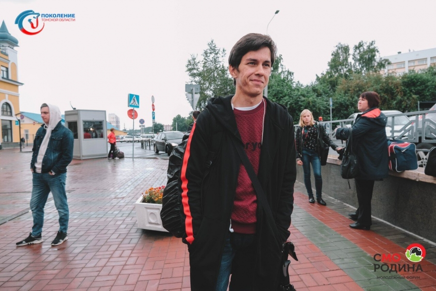 Студент СПК Павел Лоскутов принял участие в областном форуме «Смородина»