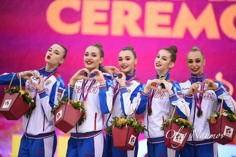 Северчанка Анастасия Шишмакова в составе Сборной России завоевала золотые медали на чемпионате мира