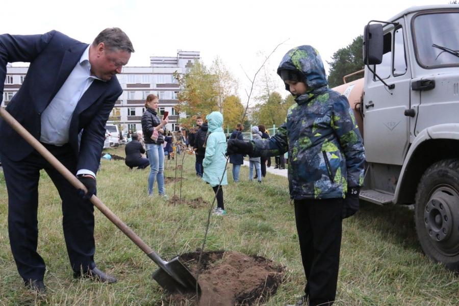 В Северске продолжается общегородская акция «Посади свое дерево»