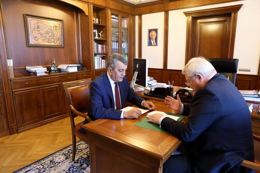 Томский губернатор и сибирский полпред обсудили реализацию национальных проектов в регионе