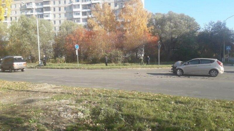 В результате вчерашнего ДТП пострадал 82-летний мужчина-водитель